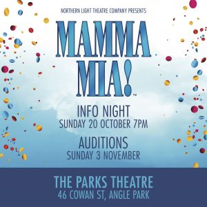 Mamma Mia Information Night and Audition Information